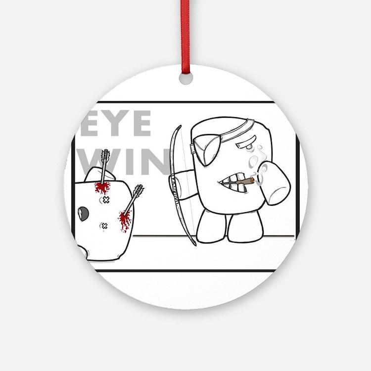 Brain Product #5 Ornament (Round)