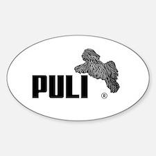 Puli Agility Sticker (Oval)