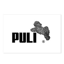 Puli Agility Postcards (Package of 8)