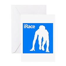 iRace Greeting Card