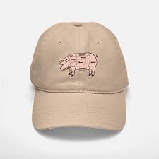 Pork Cuts 1 Baseball Baseball Cap