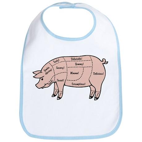 Pork Cuts 1 Bib