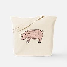 Pork Cuts 1 Tote Bag