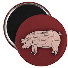 Pork Cuts 1 Magnet