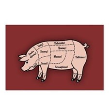 Pork Cuts 1 Postcards (Package of 8)