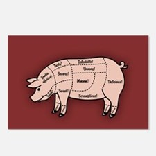 Pork Cuts 1 Postcards (Package of 8)