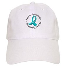 Ovarian Cancer Journey Baseball Cap