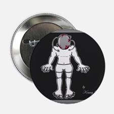 """Brain Product #10 2.25"""" Button (100 pack)"""