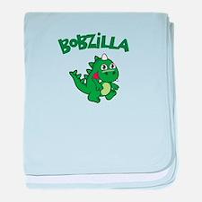 Bobzilla baby blanket