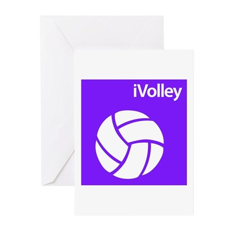 iVolley Greeting Cards (Pk of 10)
