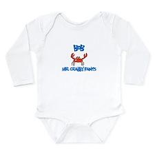 Bob - Mr. Crabby Pants Long Sleeve Infant Bodysuit