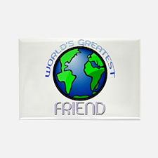 World's Greatest Friend Rectangle Magnet