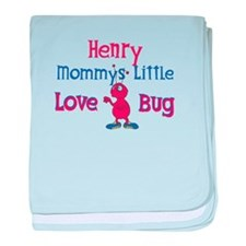 Henry - Mommy's Love Bug baby blanket