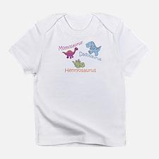 Mom, Dad & Henryosaurus Infant T-Shirt