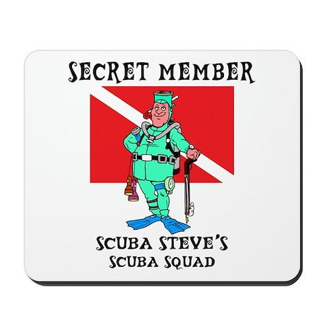 SCUBA Steve Mousepad