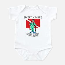 SCUBA Steve Infant Creeper