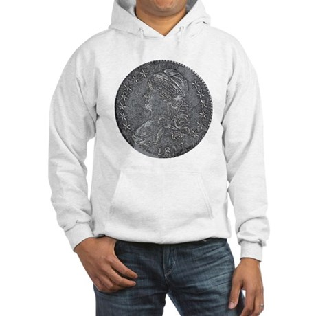 Bust Half Obverse Hooded Sweatshirt