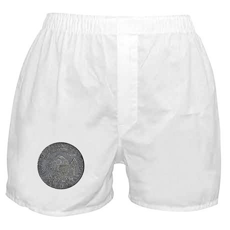 Bust Half Reverse Boxer Shorts