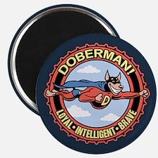 "DoberMan 2.25"" Magnet (100 pack)"