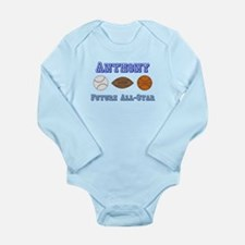 Anthony - Future All-Star Long Sleeve Infant Bodys