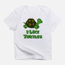 I Like Turtles Infant T-Shirt