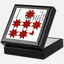Star Quilt Pattern Keepsake Box
