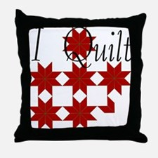 Star Quilt Pattern Throw Pillow