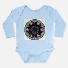 Porcupine Mandala Long Sleeve Infant Bodysuit
