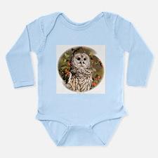 Barred Owl Long Sleeve Infant Bodysuit