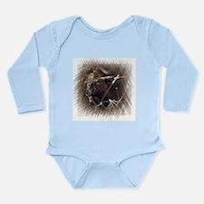 Beaver Long Sleeve Infant Bodysuit