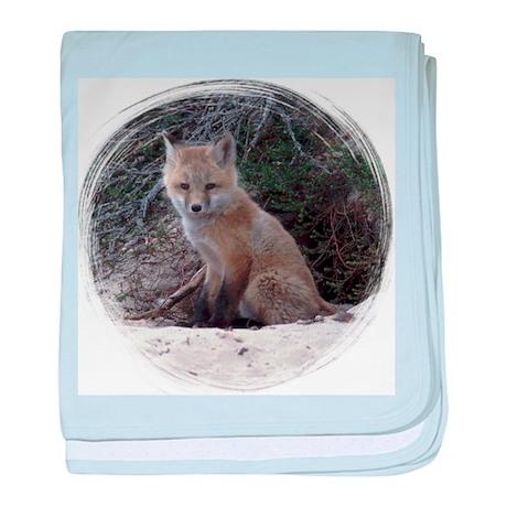 Red Fox Kit baby blanket
