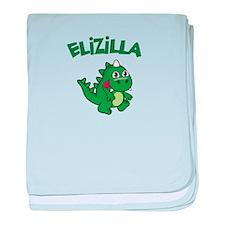 Elizilla baby blanket