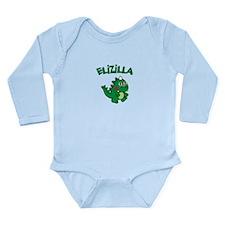 Elizilla Long Sleeve Infant Bodysuit