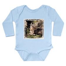 Cross Fox Kit Long Sleeve Infant Bodysuit