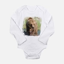 Grizzly Bear Long Sleeve Infant Bodysuit