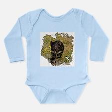 Tasmanian Devil Long Sleeve Infant Bodysuit