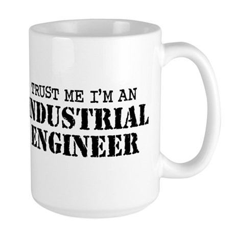 Industrial Engineer Large Mug