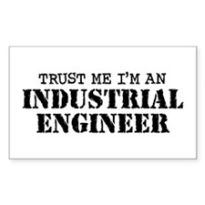Industrial Engineer Decal