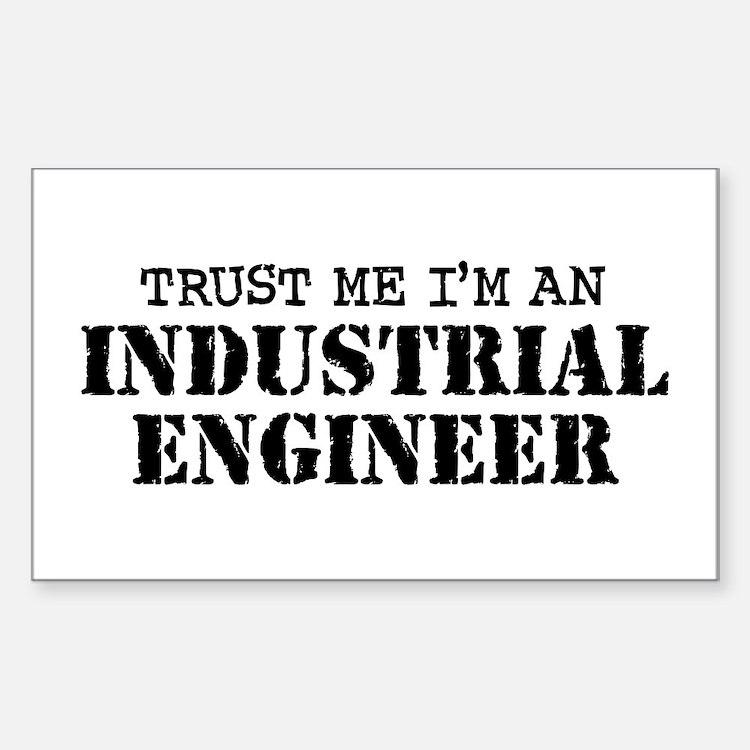 Industrial Engineer Decal
