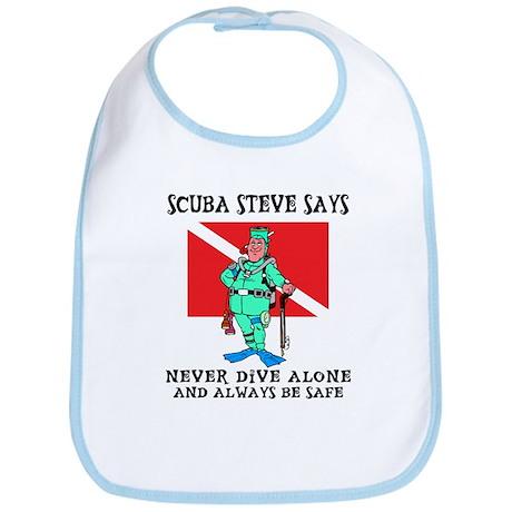 SCUBA Steve Bib