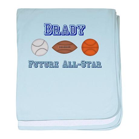 Brady - Future All-Star baby blanket