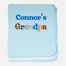 Connor's Grandpa baby blanket