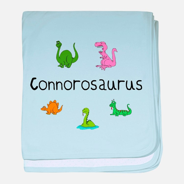 Connorosaurus baby blanket
