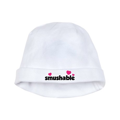 Smushable baby hat