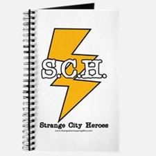 Strange City Heroes Logo Journal
