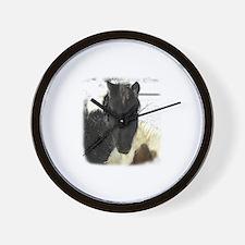 4-H Horses Wall Clock