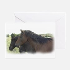 4-H Horses Greeting Card