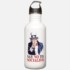 SAY NO TO SOCIALISM Water Bottle