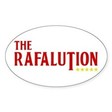 The Rafalution ***** Oval Decal