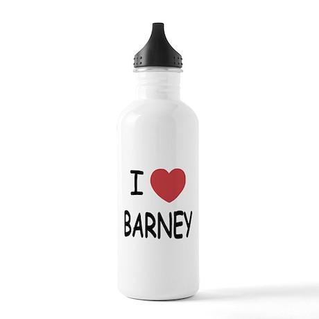 I heart Barney Stainless Water Bottle 1.0L